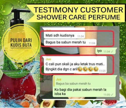 Testimoni Sona Shower Care Perfume