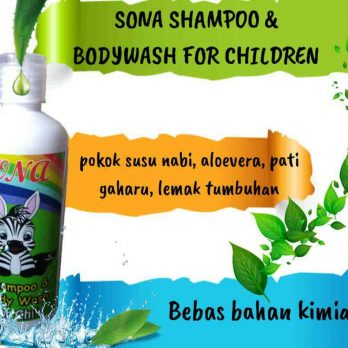 Sona Shampoo and Bodycare For Children
