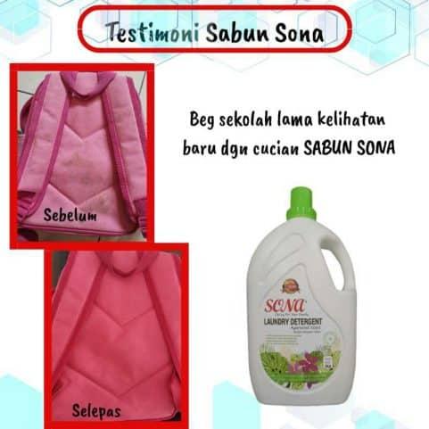 testimoni Sona Laundry Detergent 10