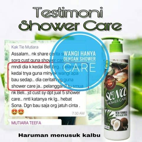 testimoni sona shower care
